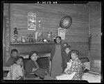 Lilly Cox and family now living in house on tract number 189. Johnson County, North Carolina