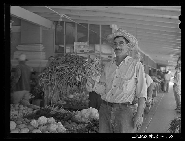 Brownsville, Texas. Mexican market