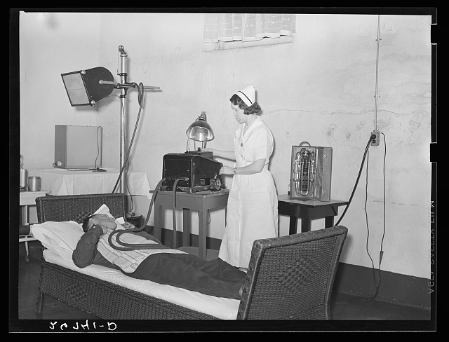 Physiotherapy treatment. Herrin Hospital (private). Herrin, Illinois