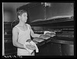 Baking bread. Columbia, Missouri