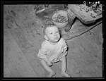 Child of family on relief living near Jefferson, Texas