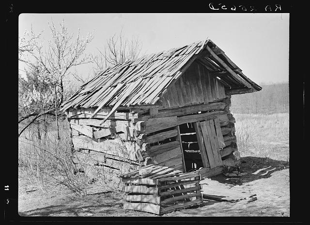 Hen house on the Coalins Forest and Game Reservation between the Tennessee and Cumberland Rivers in Kentucky