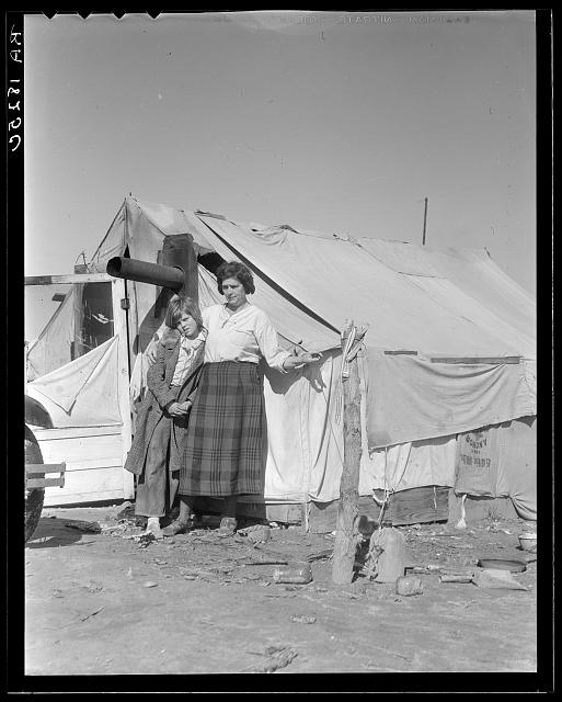 Drought refugees in California