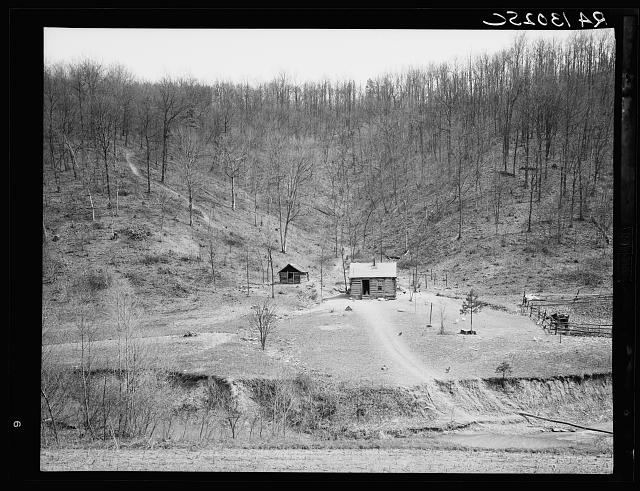 Property optioned by Resettlement Administration. Ross-Hocking land project, Ohio