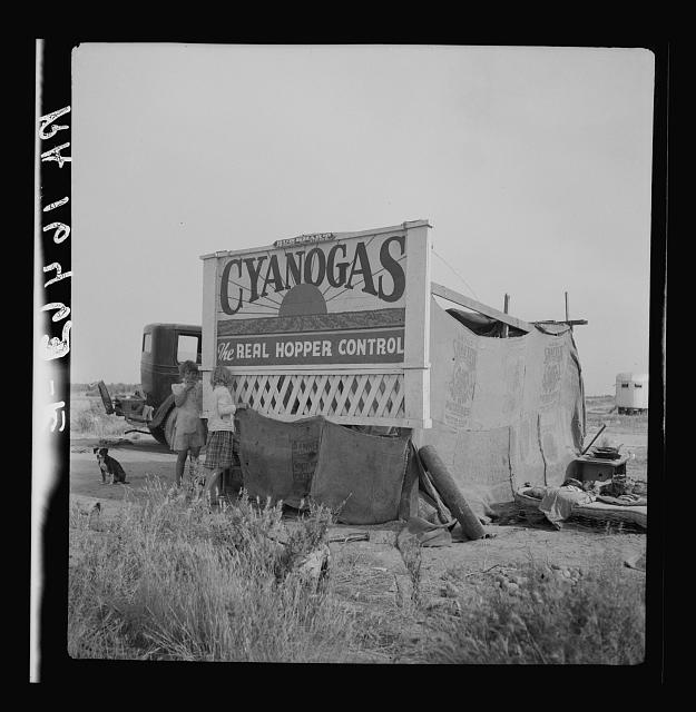 Migrant agricultural workers' home. California
