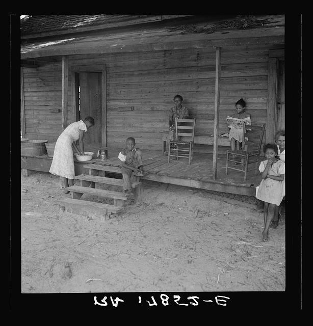 Stranded residents of Careyville, Florida, who formerly obtained a livelihood from the lumber industry