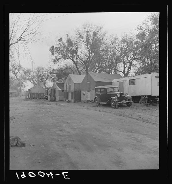 Near Brentwood, California. Winter quarters of migrants. Agricultural laborers