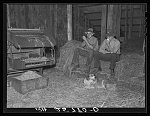Rest during threshing. Caledonia County, Vermont