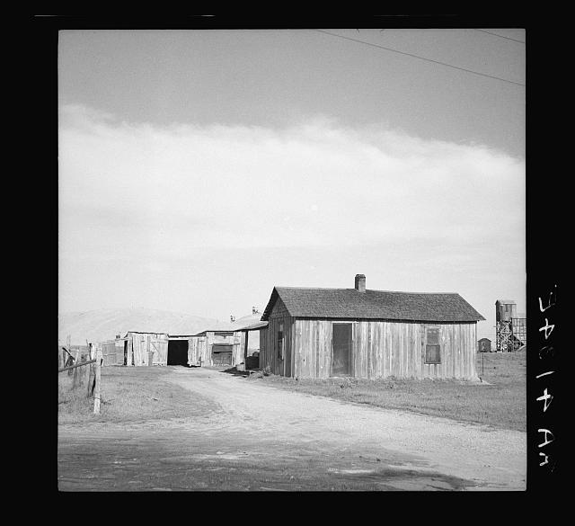 Zinc miner's home. Picher, Oklahoma