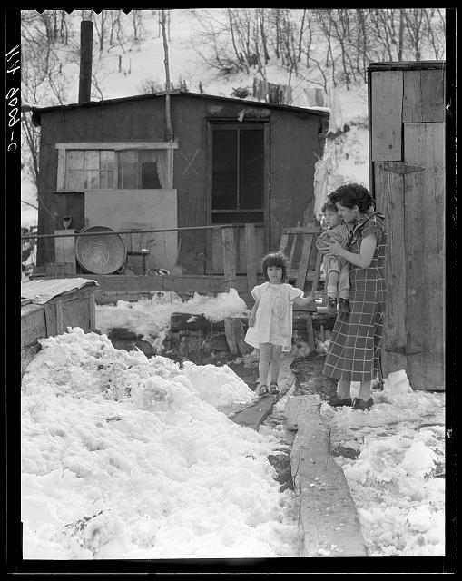 Home and family of a Utah coal miner. Consumers, near Price, Utah