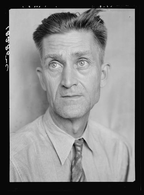 J.R. Butler, President of the Southern Tenant Farmer's Union. Memphis, Tennessee