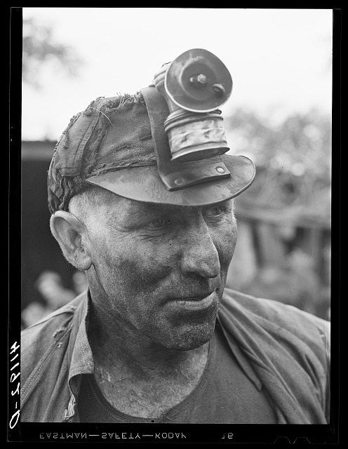 Mr. Ralph Reitz, member Tri-County Farmers Co-op Market of Du Bois, Pennsylvania. Works in the mine and runs a 125 acre farm near Falls Creek, Pennsylvania