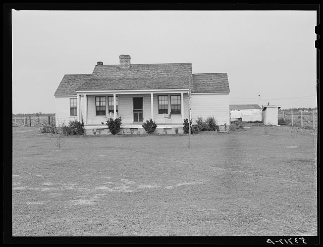 Home of FSA (Farm Security Administration) borrower. Plum Bayou Project, Arkansas (see general caption)
