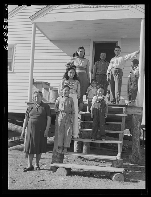 Family of Mexican sugar beet workers. Saginaw County, Michigan