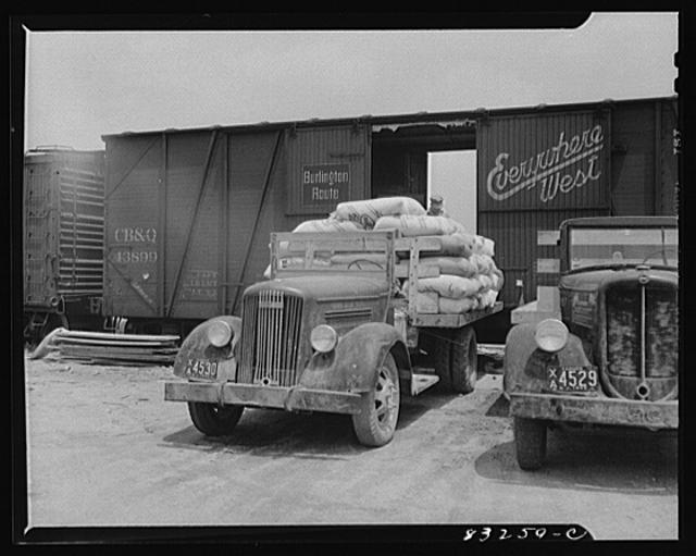 Bridgeton, New Jersey. Seabrook Farm. Fertilizer for the fields
