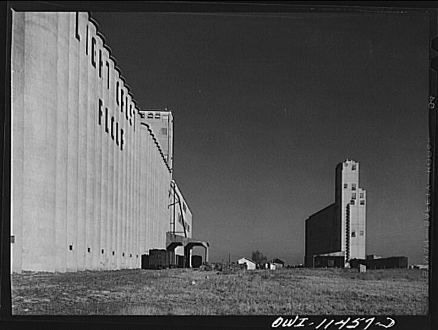 Amarillo, Texas. Grain elevator