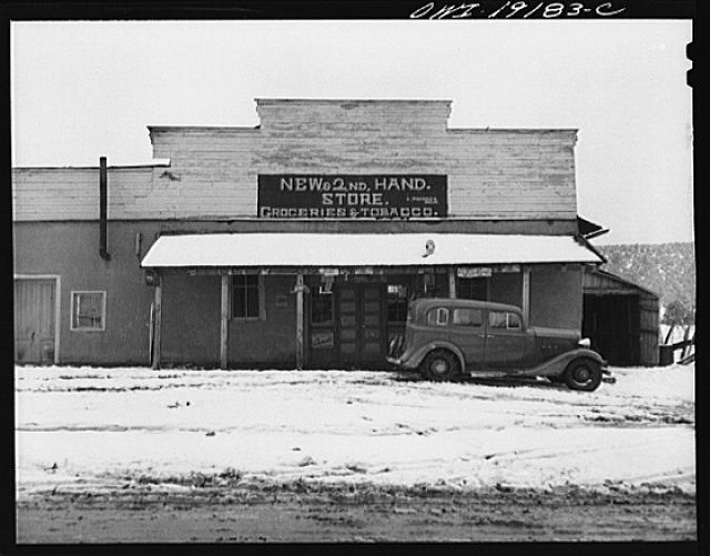 Penasco, Taos County, New Mexico. There are five stores in Penasco, but the only one which makes money is an Armenian store which is rapidly putting all other stores out of business