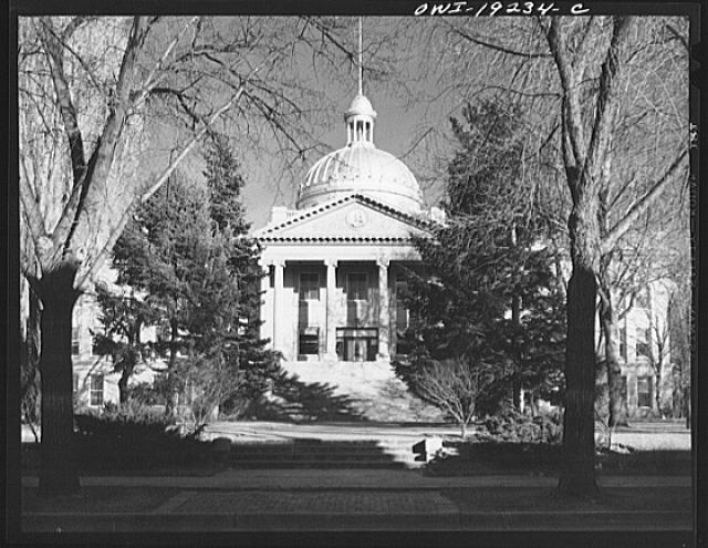 Santa Fe, New Mexico. New Mexico captiol building