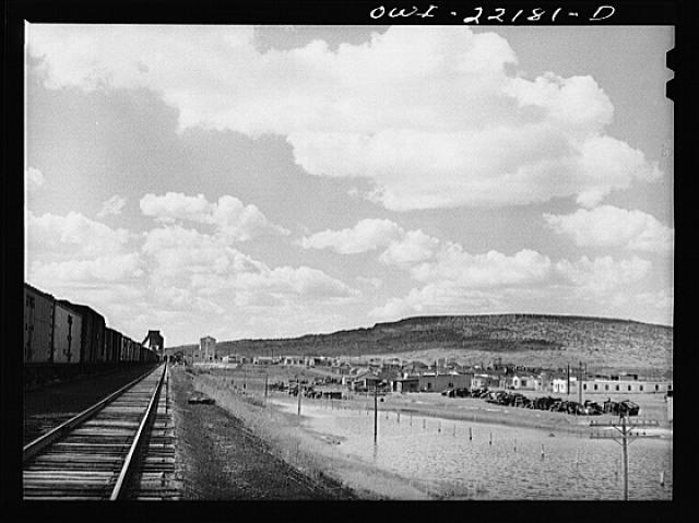 Grants, New Mexico. On the Atchison, Topeka, and Santa Fe Railroad enroute to Gallup