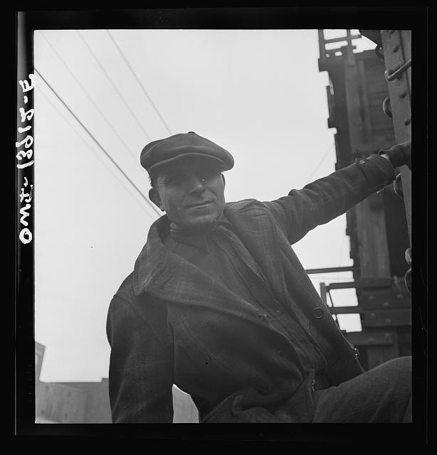 Milwaukee, Wisconsin. A foreman at the Milwaukee Western Fuel Company