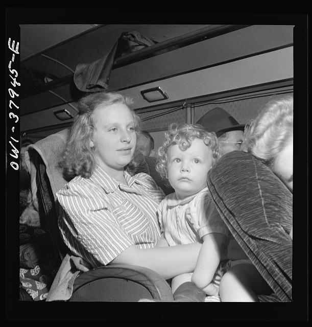 "A Greyhound bus trip from Louisville, Kentucky, to Memphis, Tennessee, and the terminals. Local fares, going ""down the road a piece"" to visit"