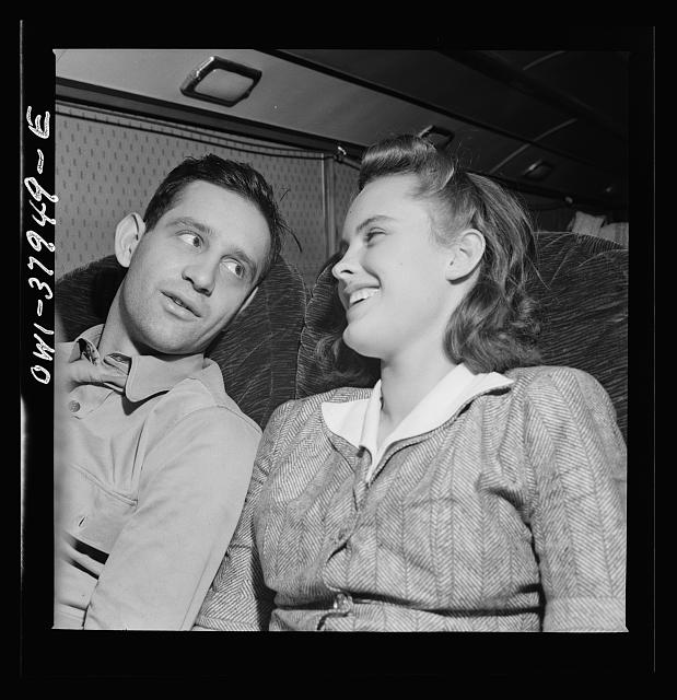 A Greyhound bus trip from Louisville, Kentucky, to Memphis, Tennessee, and the terminals. A beautiful friendship formed on the bus. The girl is returning home after trying to get a defense job in Ohio, the soldier is on the way to a hospital. Louisville- Nashville bus