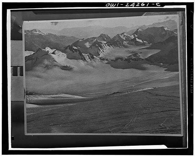 Scenery in the Caucasus mountains in the USSR (Union of Soviet Socialist Republics)