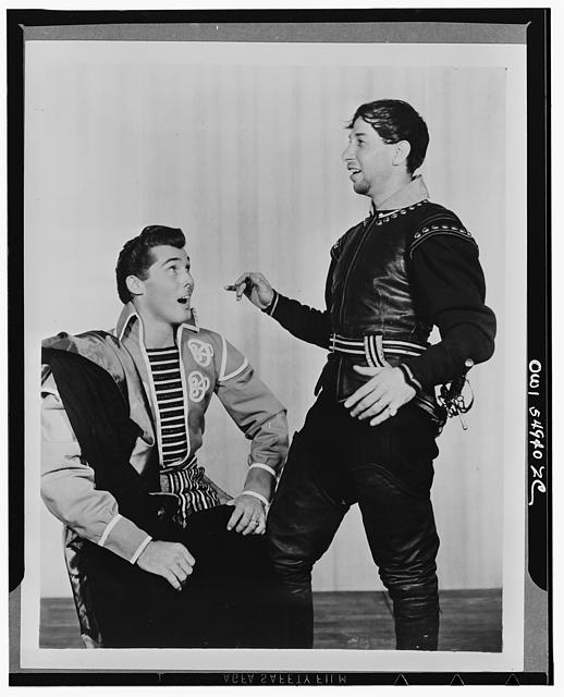 "[Scene from ""Othello,"" Theatre Guild Production, Broadway, 1943-44]"
