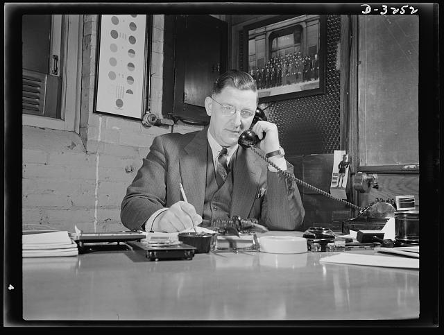 E. W. Gray, chief of plant protection at the White Motor Company, Cleveland, Ohio