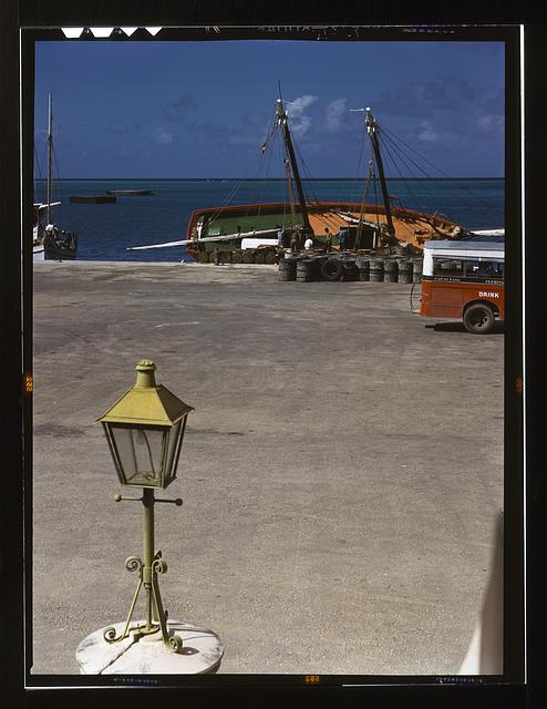 Along the waterfront, Christiansted, Saint Croix, Virgin Islands