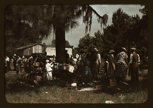 Fourth of July picnic by Negroes, St. Helena Island, S.C.