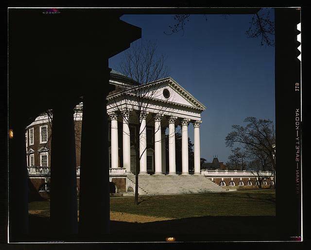 Rotunda of the University of Virginia, Charlottesville, Va.