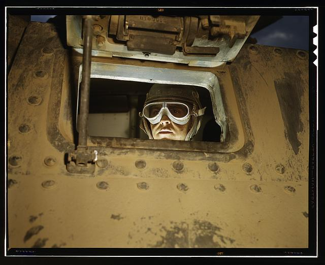Tank driver, Ft. Knox, Ky.