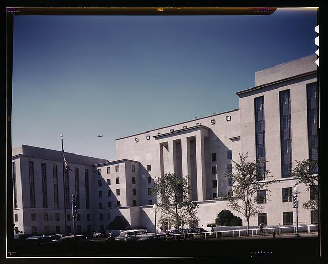 War Department Building at 21st and Virginia Avenue, N.W., Washington, D.C.