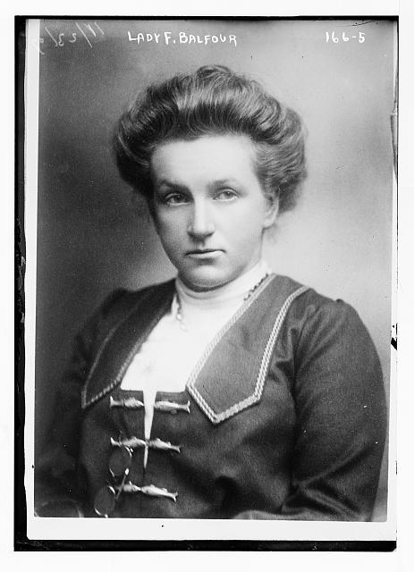 Lady F. Balfour, portrait bust
