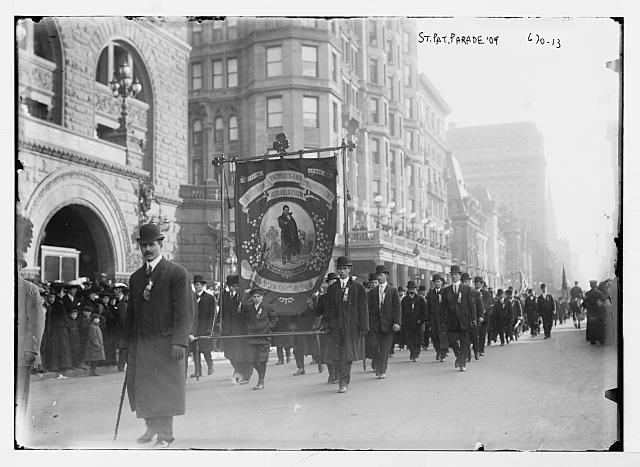 St. Patrick Parade, Fifth Ave., New York