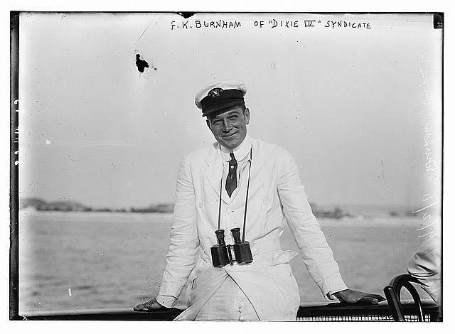"F.K. Burnham of ""Dixie IV"" Syndicate"