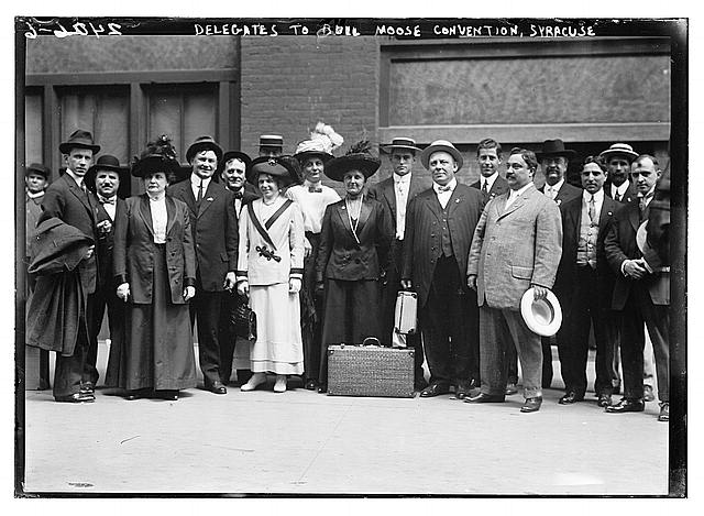 Delegates to Bull Moose Convention, Syracuse