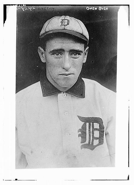 "[Owen ""Donie"" Bush, Detroit AL (baseball)]"