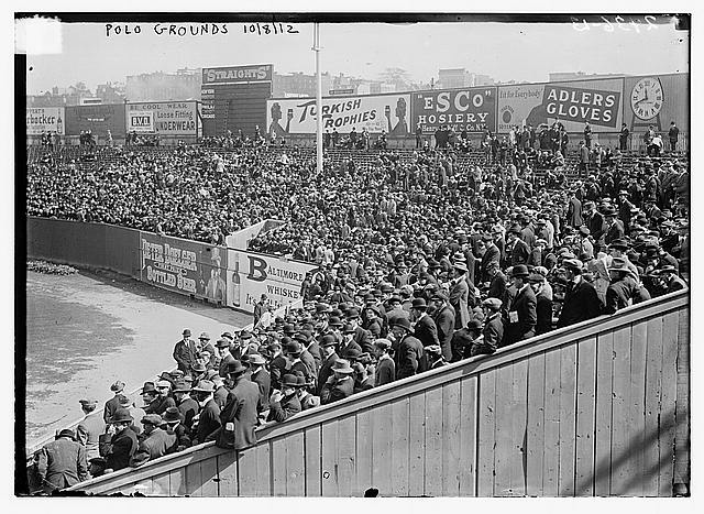 [Right field grandstand at Polo Grounds - 1912 World Series (baseball)]