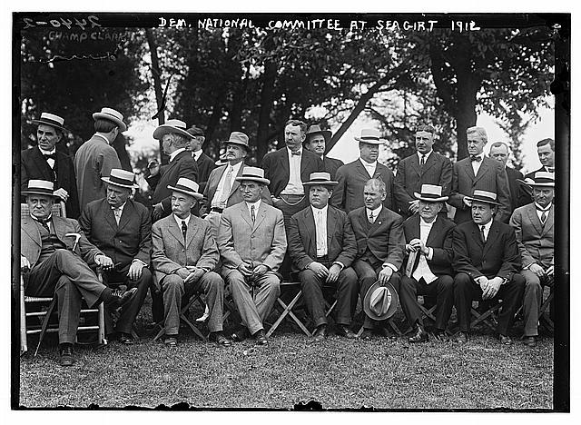 Dem. Nat'l Committee at Sea Girt, 1912