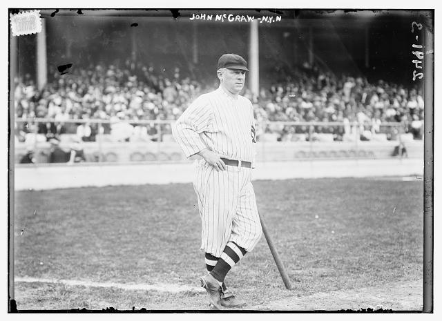 [John McGraw, New York NL, at Polo Grounds, NY (baseball)]