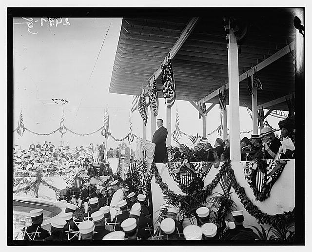 [Columbus Day Memorial Celebration, Union Station, Washington, D.C., 1912]
