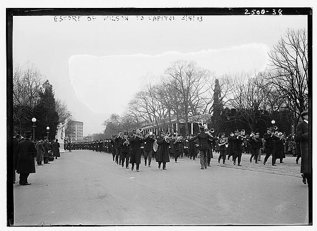 Escort of Wilson to Capitol