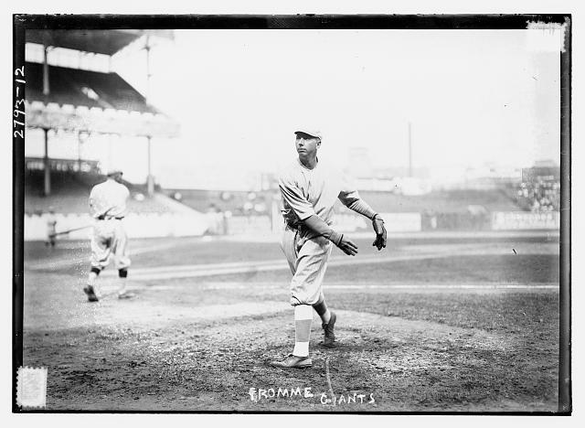[Art Fromme, New York NL, at Polo Grounds, NY (baseball)]