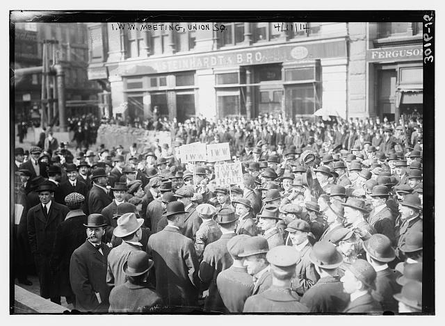 I.W.W. Meeting -- Union Sq.