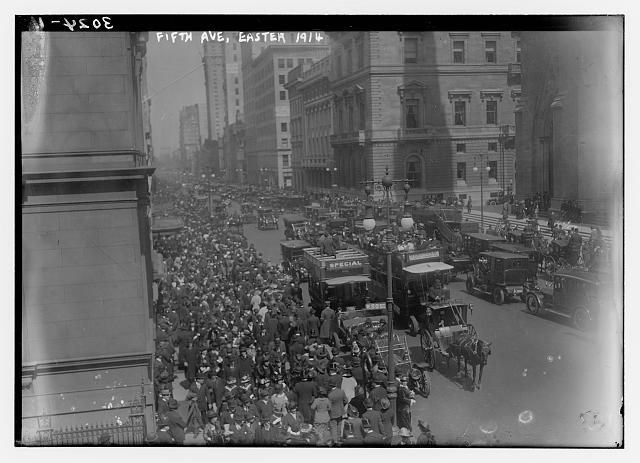 Fifth Ave., Easter, 1914