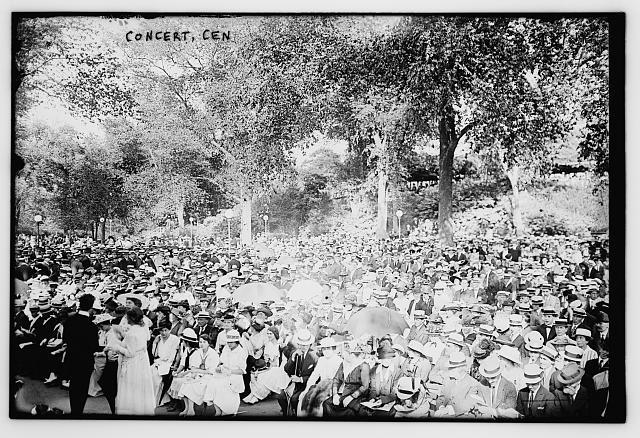 Concert Cen. [i.e., Central Park]