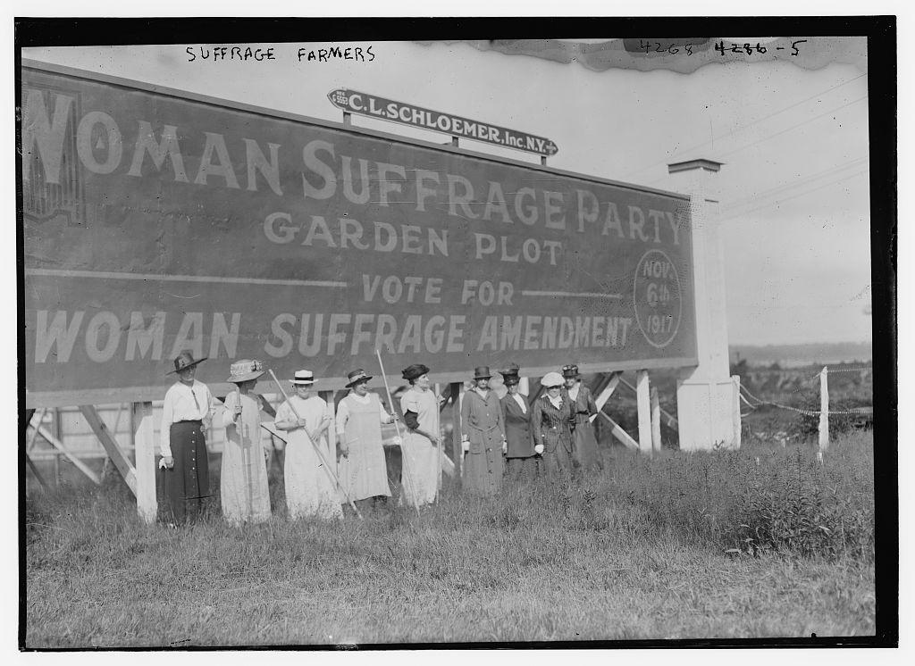 Suffrage farmers
