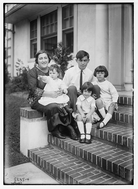 [Eddie] Cantor [family]